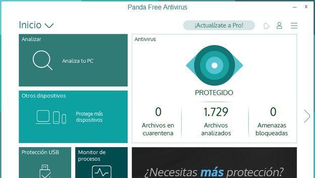 Antivirus Panda Free entre los mejores antivirus del año 2016